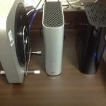 USB3.0対応でMacとデザインの相性の良い外付けHDDを購入