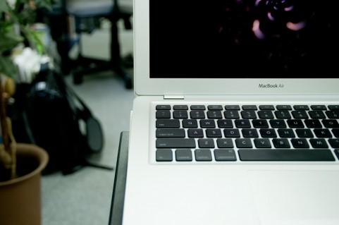 MacBookの写真